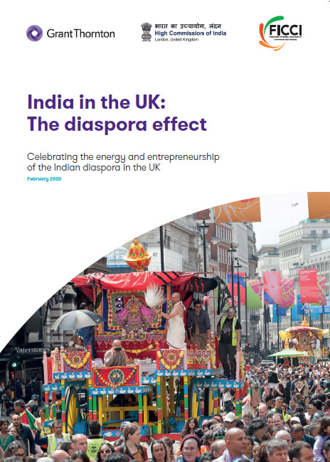 Report on India in the UK: The Diaspora Effect