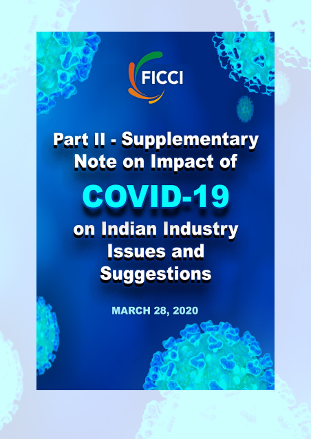 Part II - Supplementary Note on Impact of COVID-19 on Indian Industry Issues and Suggestion