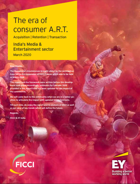 The era of consumer A.R.T. - India's Media & Entertainment sector