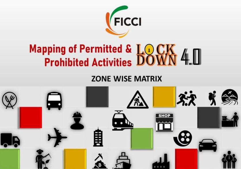 Mapping of Permitted & Prohibited Activities during Lockdown 4.0 - Zone Wise Matrix