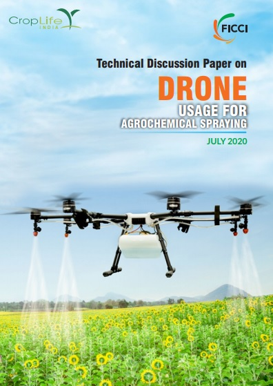 Drone Usage For Agrochemical Spraying