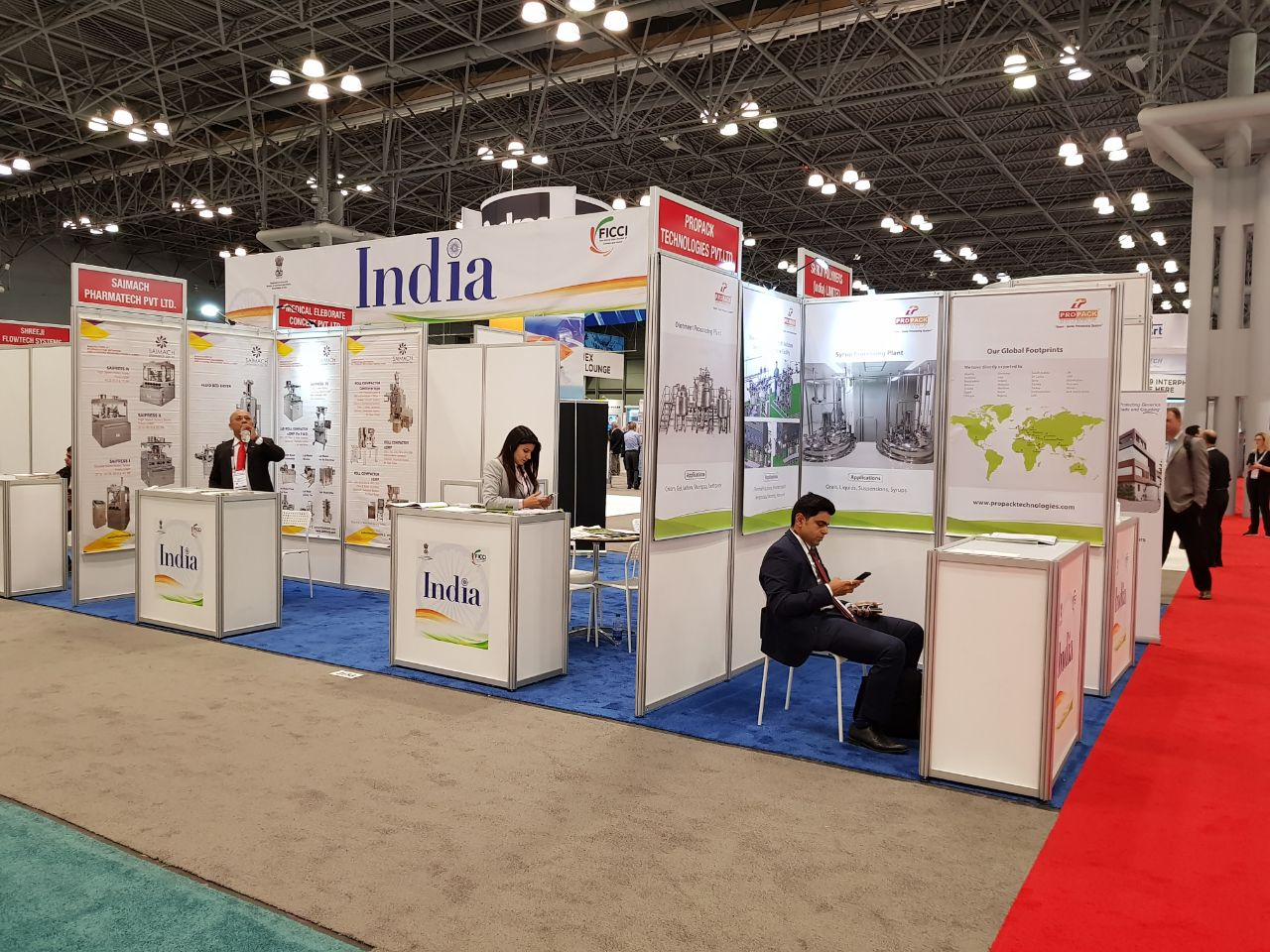 India Pavilion at Interphex, Apr 17-19, 2018