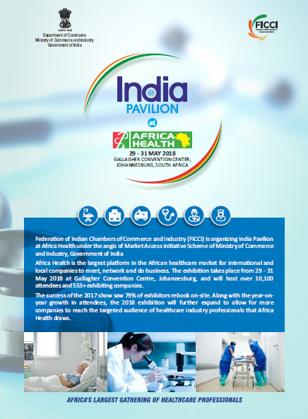 India Pavilion at Africa Health