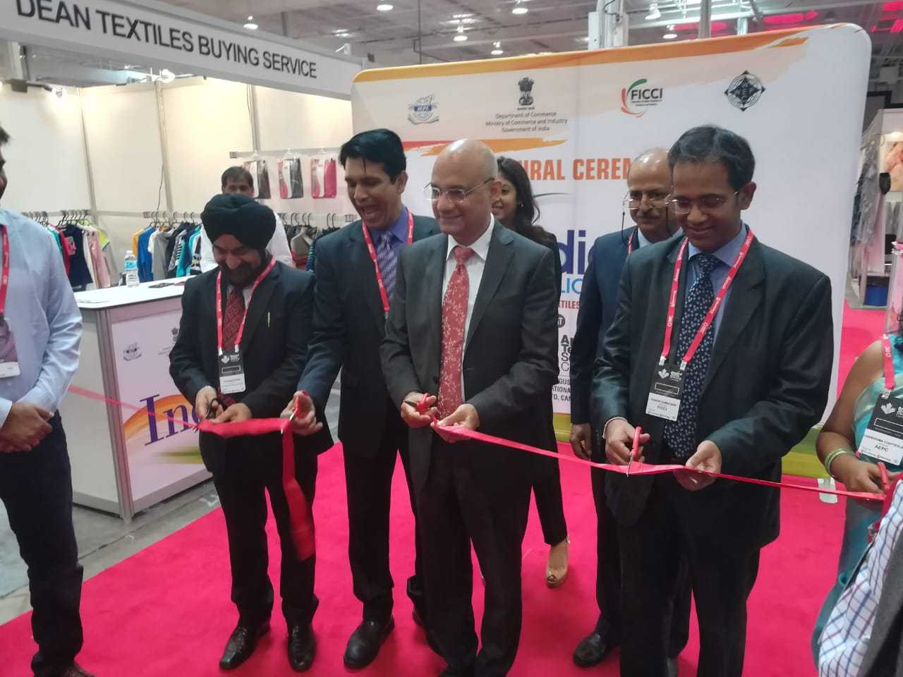 India Pavilion at Apparel Textile Sourcing - Canada