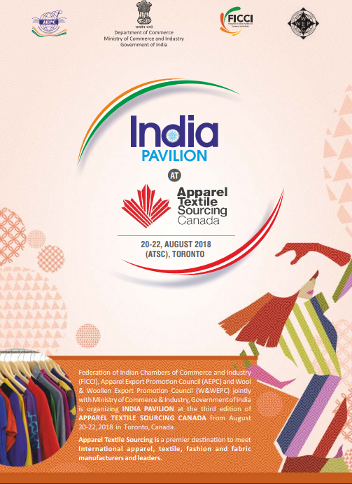 India Pavilion at Apparel Textile Sourcing