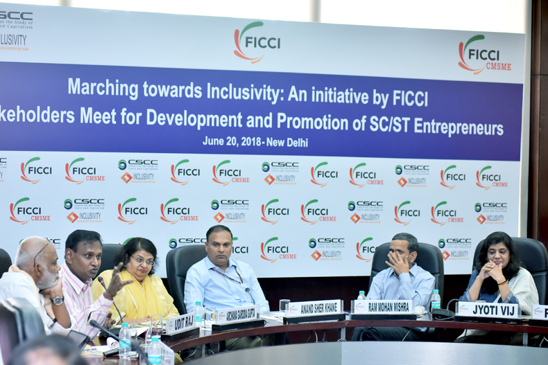 Marching towards Inclusivity: An initiative by FICCI Stakeholders Meet for Development and Promotion of SC/ST Entrepreneurs