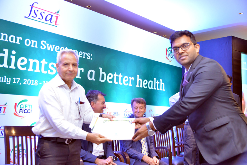 Seminar on Sweeteners- Innovative Ingredients for a Better Health