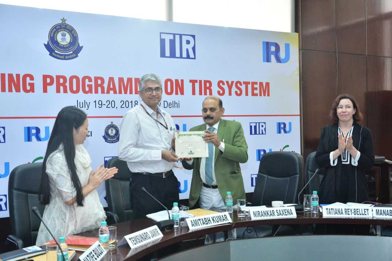Training Programme on TIR System