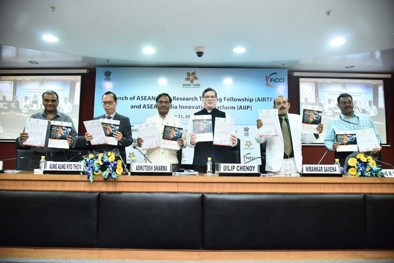 Launch of ASEAN India Innovation Platform & ASEAN India Research Training Fellowship