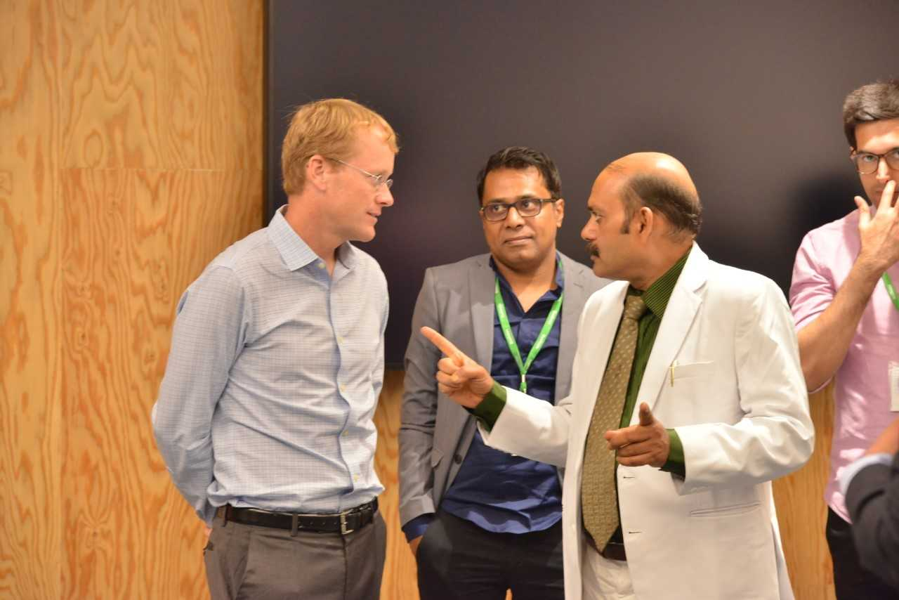 Interaction with Mr. Chris Daniels, CEO Whatsapp