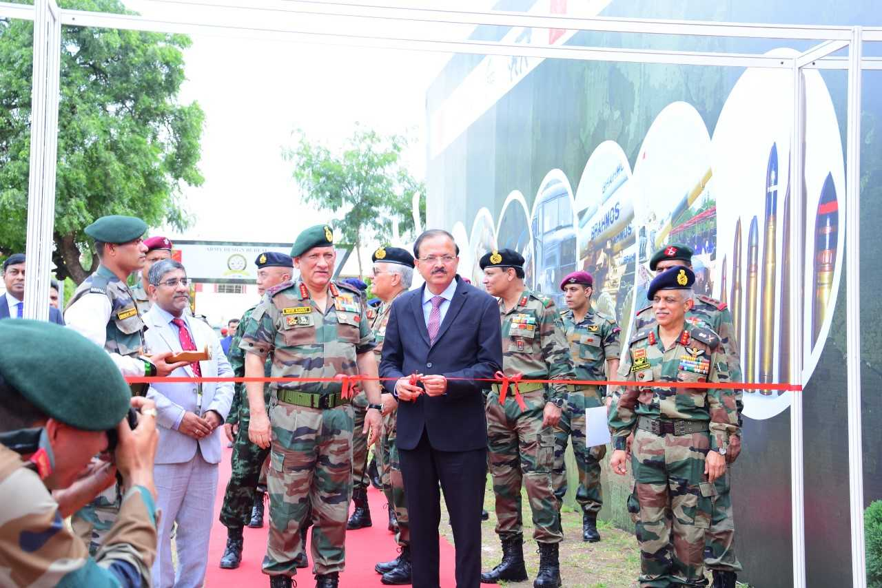 Visit of BIMSTEC Nations Army Chiefs: Equipment Dsiplay
