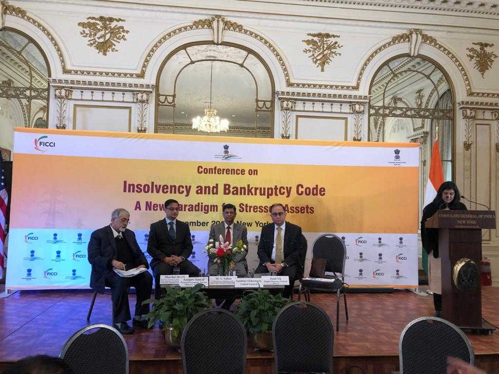 Conference on Insolvency and Bankruptcy Code of India - A New Paradigm for Stressed Assets