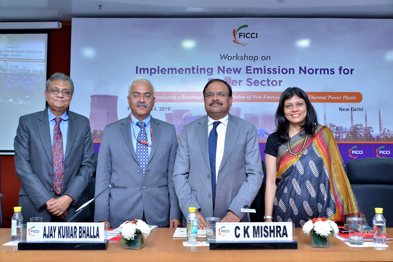 Consultative Workshop on 'Developing a Roadmap for Implementing New Emission Norms for Power Sector'