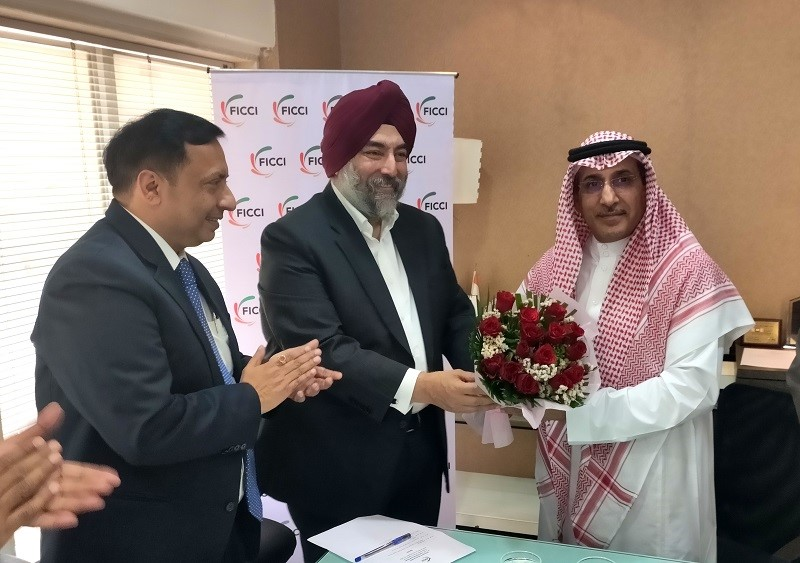 Interactive Meeting with H. E. Dr. Saud Mohammed Alsati Ambassador of the Kingdom of Saudi Arabia to the Republic of India, Mumbai