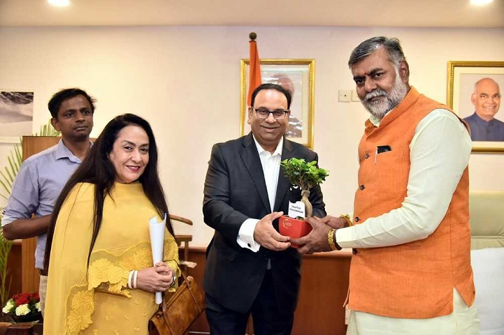FICCI Call on Meeting with Shri Prahalad Singh Patel, Union Minister of State (Independent Charge) of Ministry of Tourism, GoI