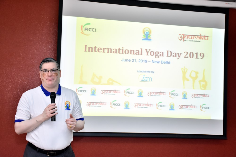 FICCI Celebrates International Yoga Day