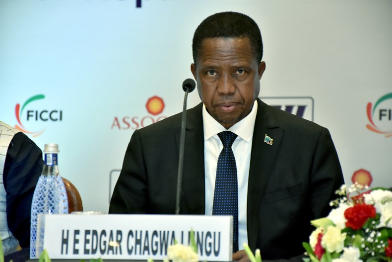 Business Session in honour of H E Mr Edgar Chagwa Lungu, President of Republic of Zambia and Accompanying Delegation