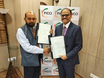 FICCI and BSE sign MOU to develop Business Acceleration Ecosystem for SMEs