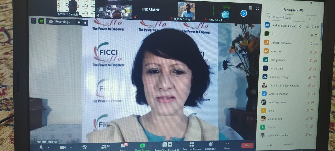Webinar on Entrepreneurship and Self Employment Opportunities for Women in Jammu and Kashmir