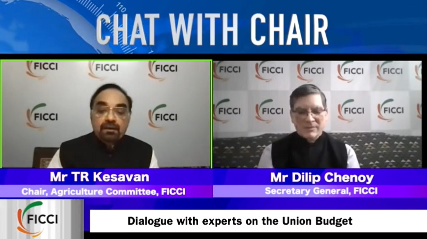 Chat with Chair, Agriculture - Mr TR Kesavan
