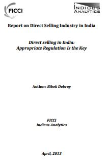 Direct selling in India: Appropriate Regulation Is the Key, Apr 17, 2013